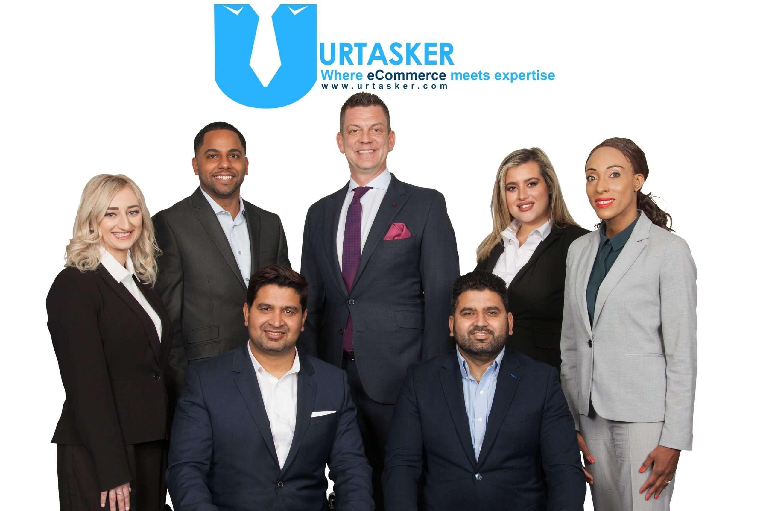 Urtasker team picture standing